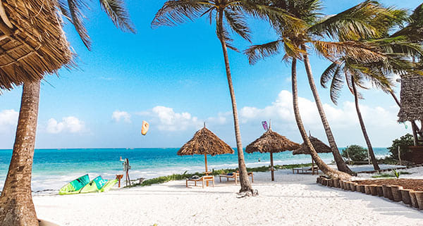 Kite Camp - Zanzibar - Kite\'s Angels Beach