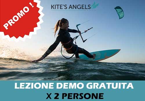 Prima lezione demo - Kitesurf - gratuita